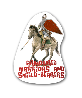 Educational posters - Armoured warriors and shield bearers